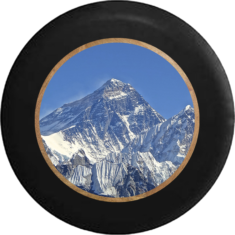 Mt Everest Snowy Peak Mountain Climbing Jeep Camper Spare Tire Cover 35 inch R333
