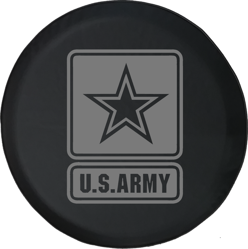 Jeep Liberty Spare Tire Cover With Army Star (Liberty 02-12)