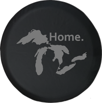 State of Michigan Great Lakes Detroit Home Edition Offroad Jeep RV Camper Spare Tire Cover S213
