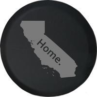West Coast California Home Edition Offroad Jeep RV Camper Spare Tire Cover S216