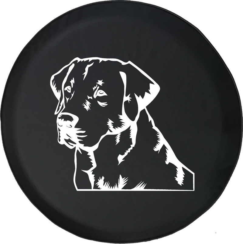 Lab Labrador Retriever Gun Dog Lover K9 Jeep Offroad Jeep RV Camper Spare Tire Cover S263