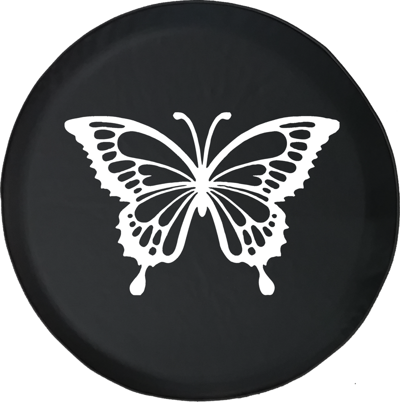 Jeep Liberty Tire Cover With Butterfly