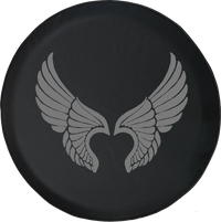Jeep Liberty Tire Cover With Angel Wings (Liberty 02-12)