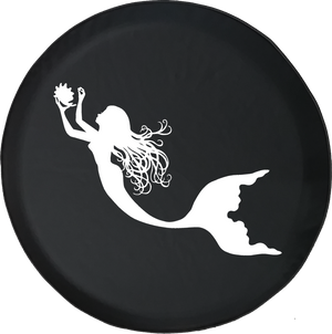 Jeep Liberty Spare Tire Cover With Mermaid (Liberty 02-12)