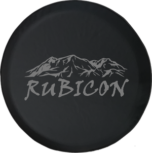 Rubicon Rocky Mountain Edition 4x4 Offroad Jeep RV Camper Spare Tire Cover S279