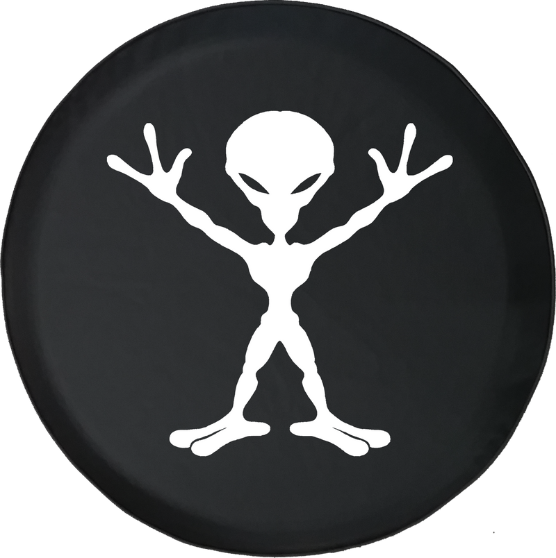 Alien Outerspace Offroad Jeep RV Camper Spare Tire Cover T010
