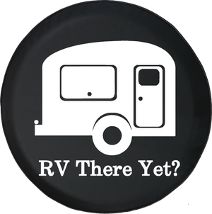 RV There Yet? TravelCamper Offroad Jeep RV Camper Spare Tire Cover T126