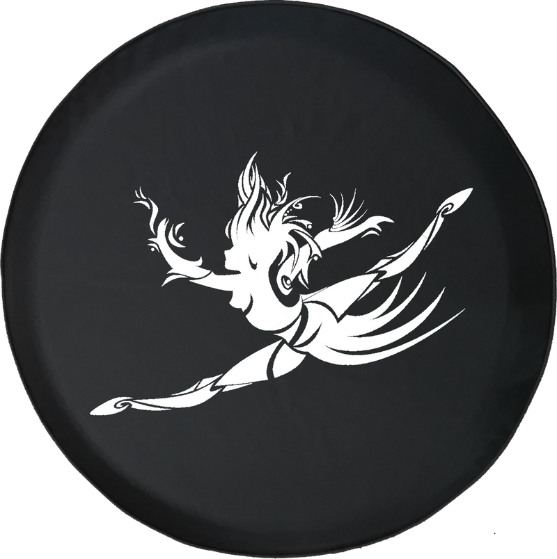 Jeep Liberty Spare Tire Cover With Dancing Girl (Liberty 02-12)
