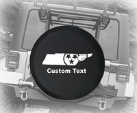 Tennessee Stars American 4x4- Personalized Spare Tire Cover