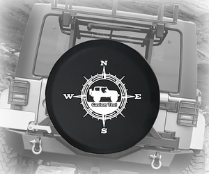 Compass American 4x4 Offroad - Personalized Spare Tire Cover