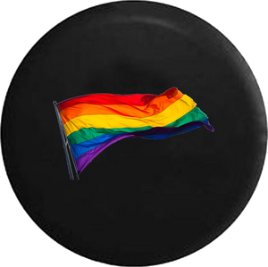 Gay Pride LGBT Waving Flag