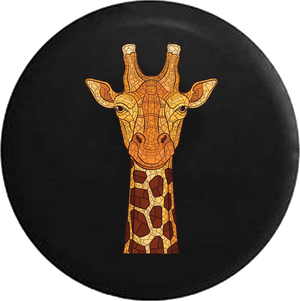Giraffe Mosaic Stained Glass