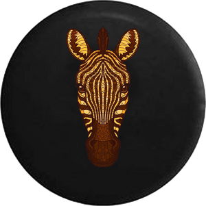 Zebra Stained Glass