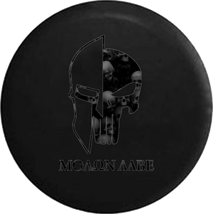Molon Labe Tactical Skull Helmet Dark Edition