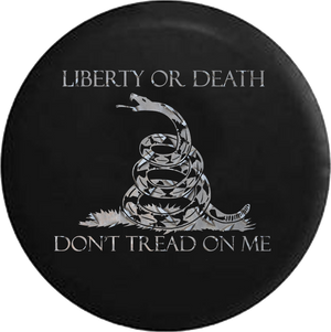Liberty or Death Don't Tread on Me Snake Diamond Plate