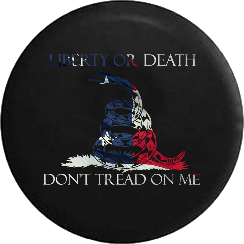 Liberty or Death Don't Tread on Me Snake American Flag