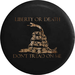 Liberty or Death Don't Tread on Me Snake Ghost Skulls