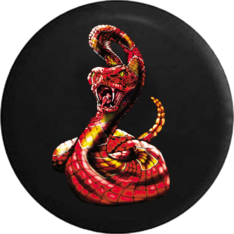 Diamond Back Rattle Snake Red