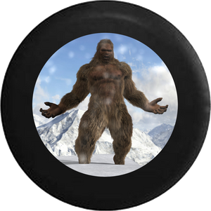 Bigfoot Yeti Sasquash Canadian Wilderness