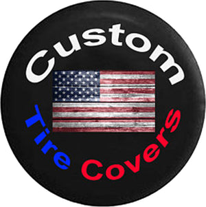 Custom Tire Cover - Personalized for your Jeep or Camper - All Sizes Available