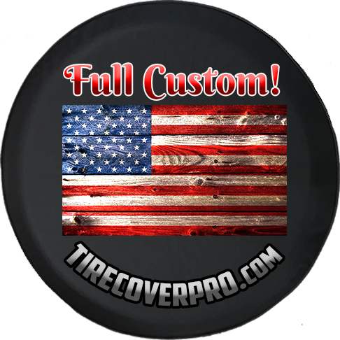 Custom Tire Cover - Personalized for your Jeep or Camper - All Sizes Available - TireCoverPro