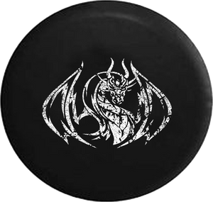 Distressed - Soaring Dragon Edition Unlimited Jeep Camper Spare Tire Cover S275 35 inch