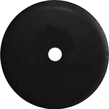 JL Wrangler Back up Camera Hole - Blank Black Spare Tire Cover