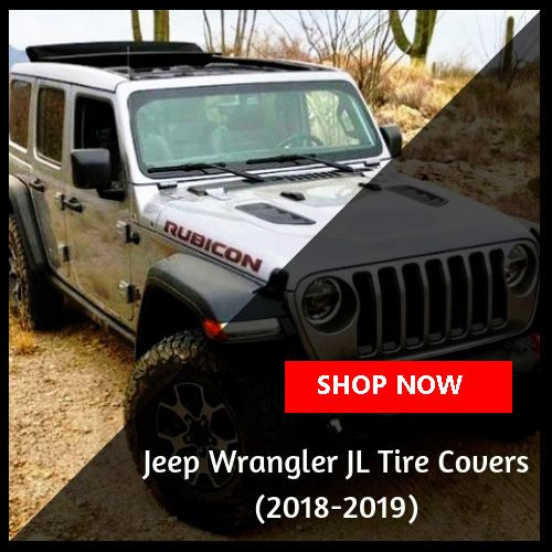 2018/2019 Jeep Wrangler JL Tire Covers