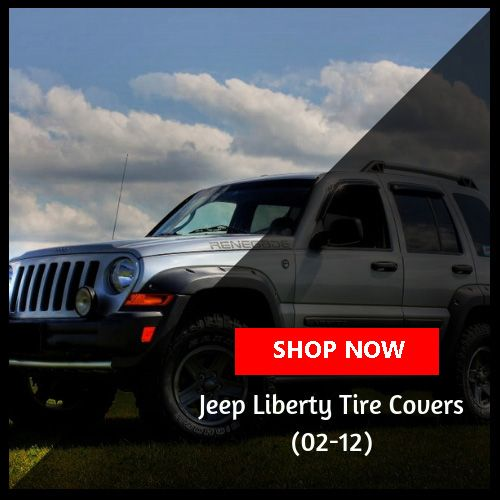 2002 - 2012 Jeep Liberty Tire Covers