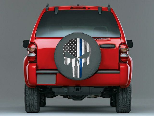 Jeep Liberty Punisher Tire Cover