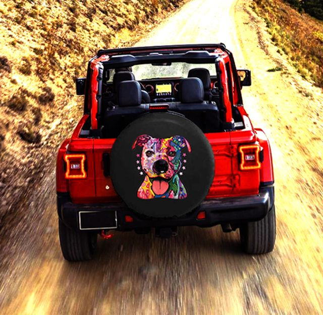 Jeep Wrangler JL Dog Tire Cover