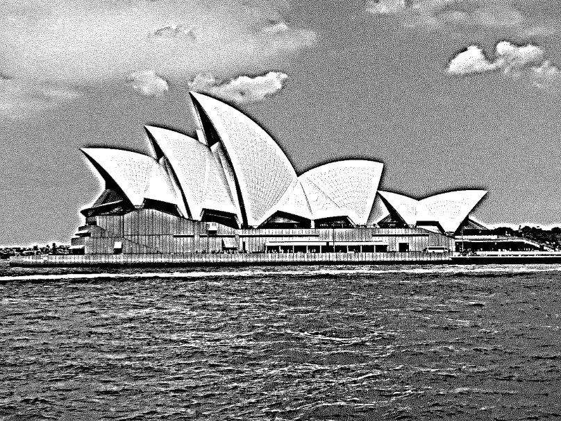 Sydney Opera House after Step 4