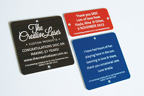 The Creative Lasers company tags