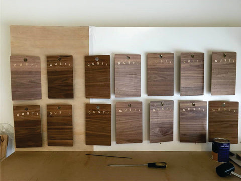 Rowmark Hardwood Walnut
