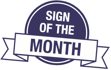 Sign of the Month logo