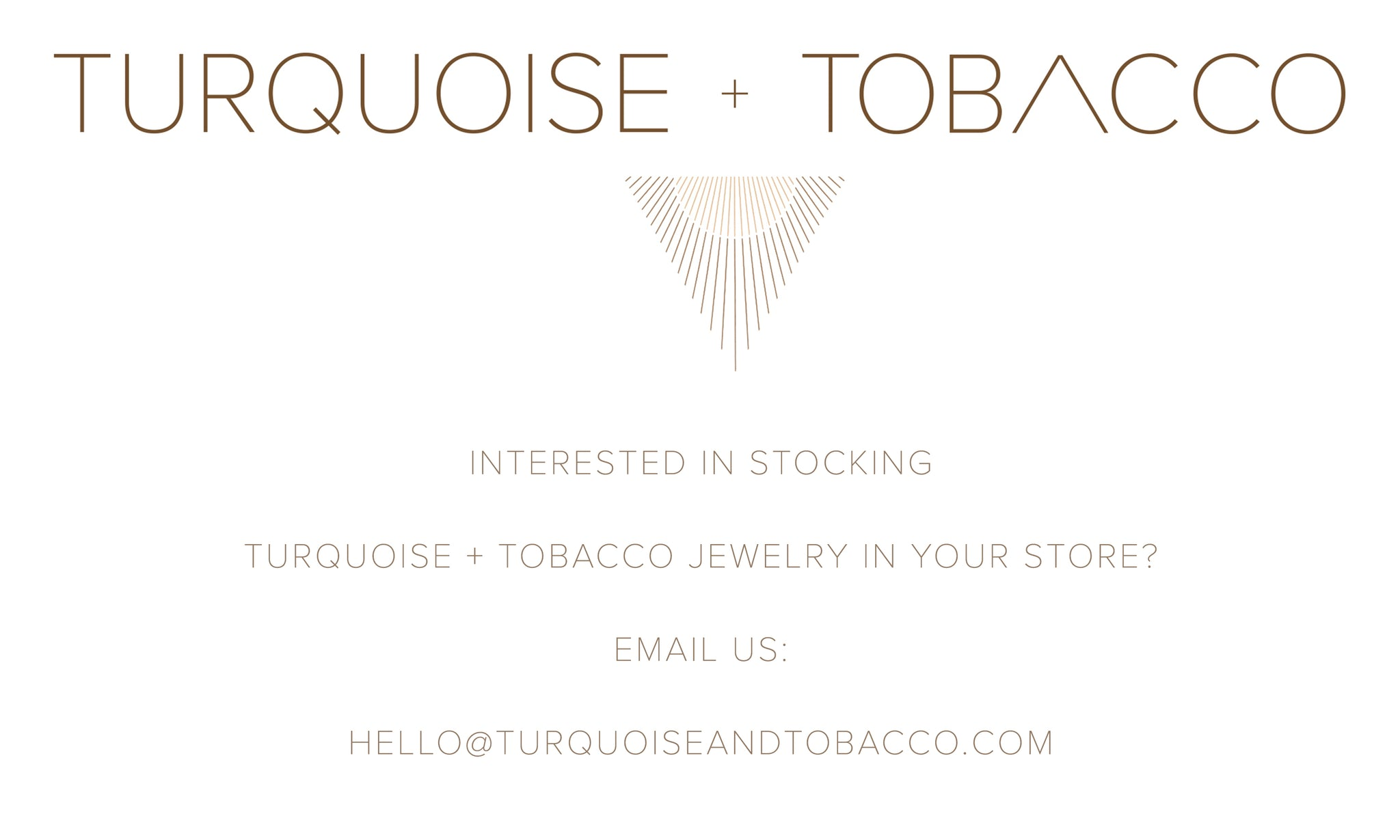 CONTACT US FOR WHOLESALE JEWELRY