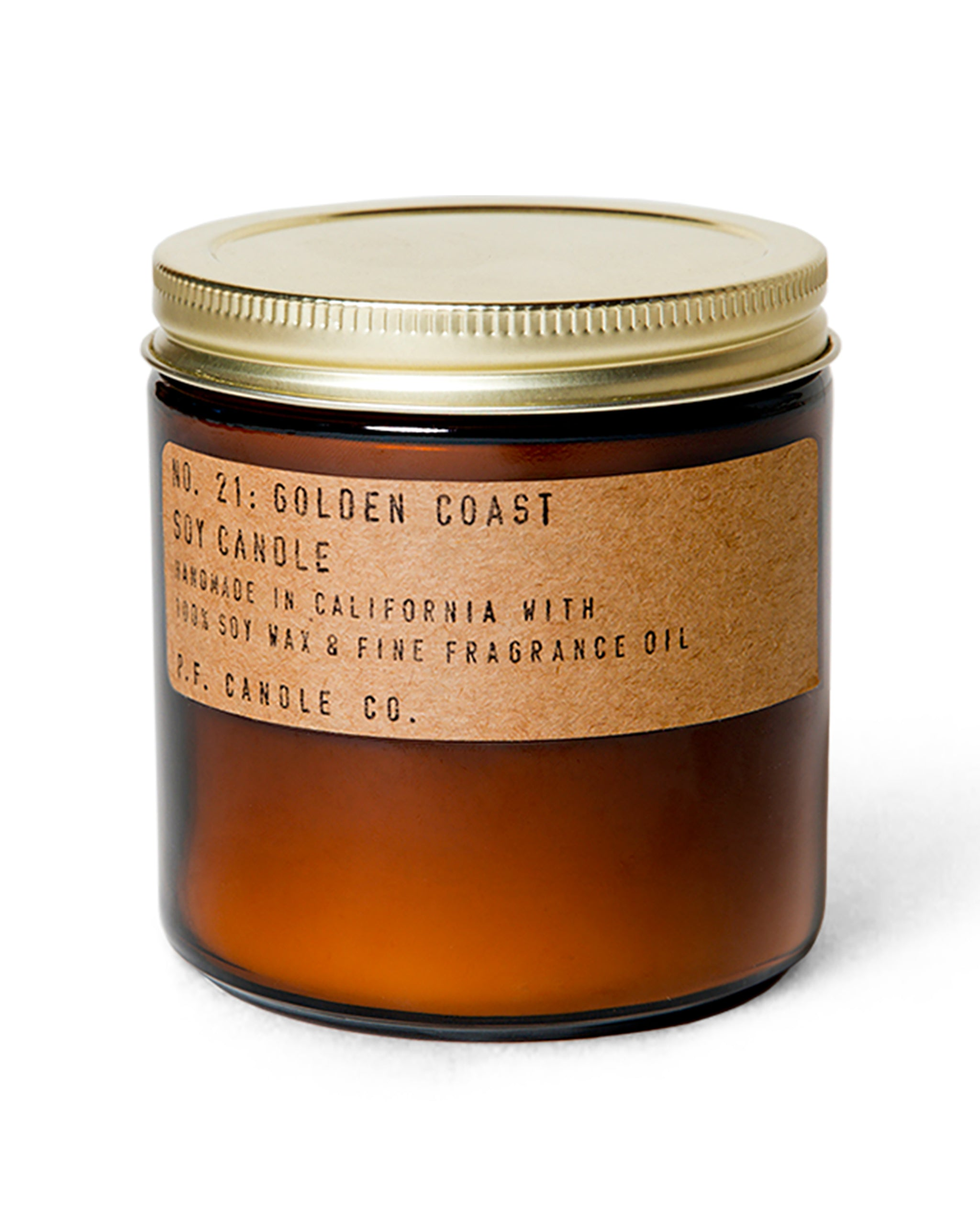 PF Candle Co Golden Coast Candle, 12.5