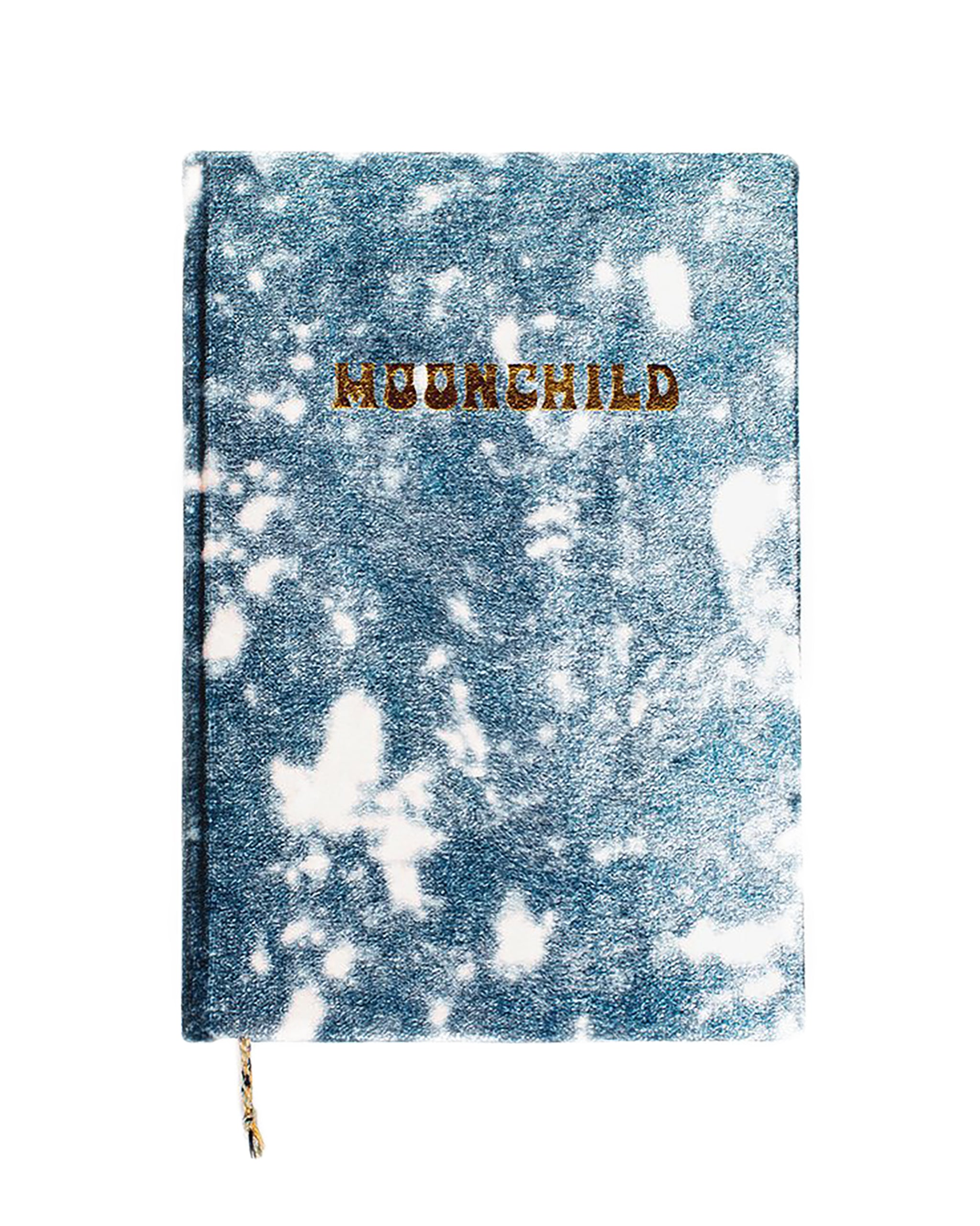 Bohemian Velvet Moonchild Tie Dye Journal