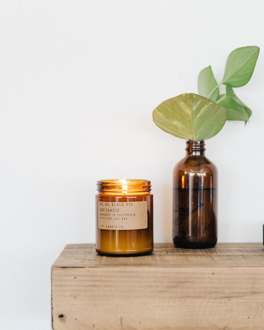 BLACK FIG CANDLE - TURQUOISE + TOBACCO
