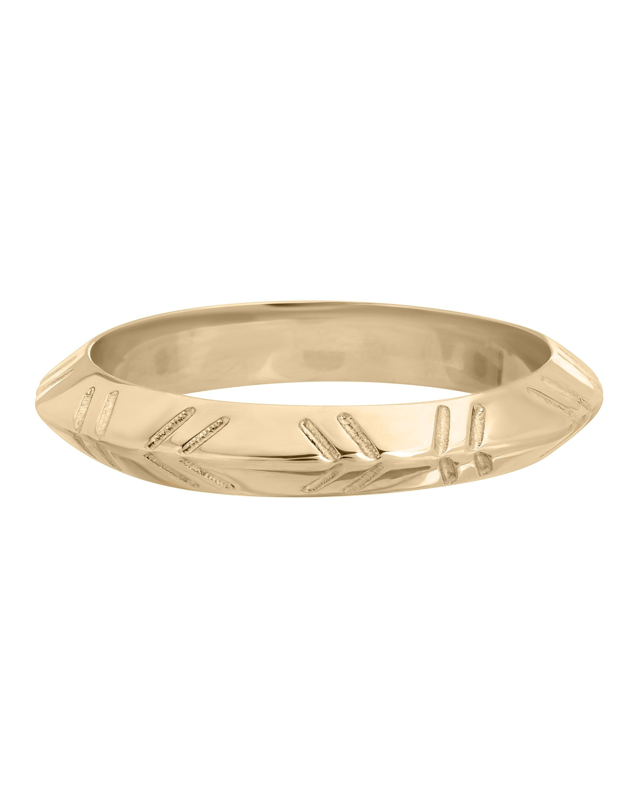 ECHO RING - 14K YELLOW GOLD