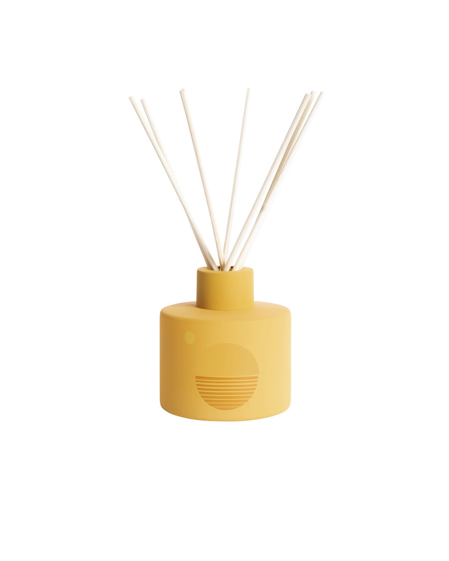 PF Candle Co Golden Hour Diffuser, Turquoise + Tobacco X Blanco Bungalow