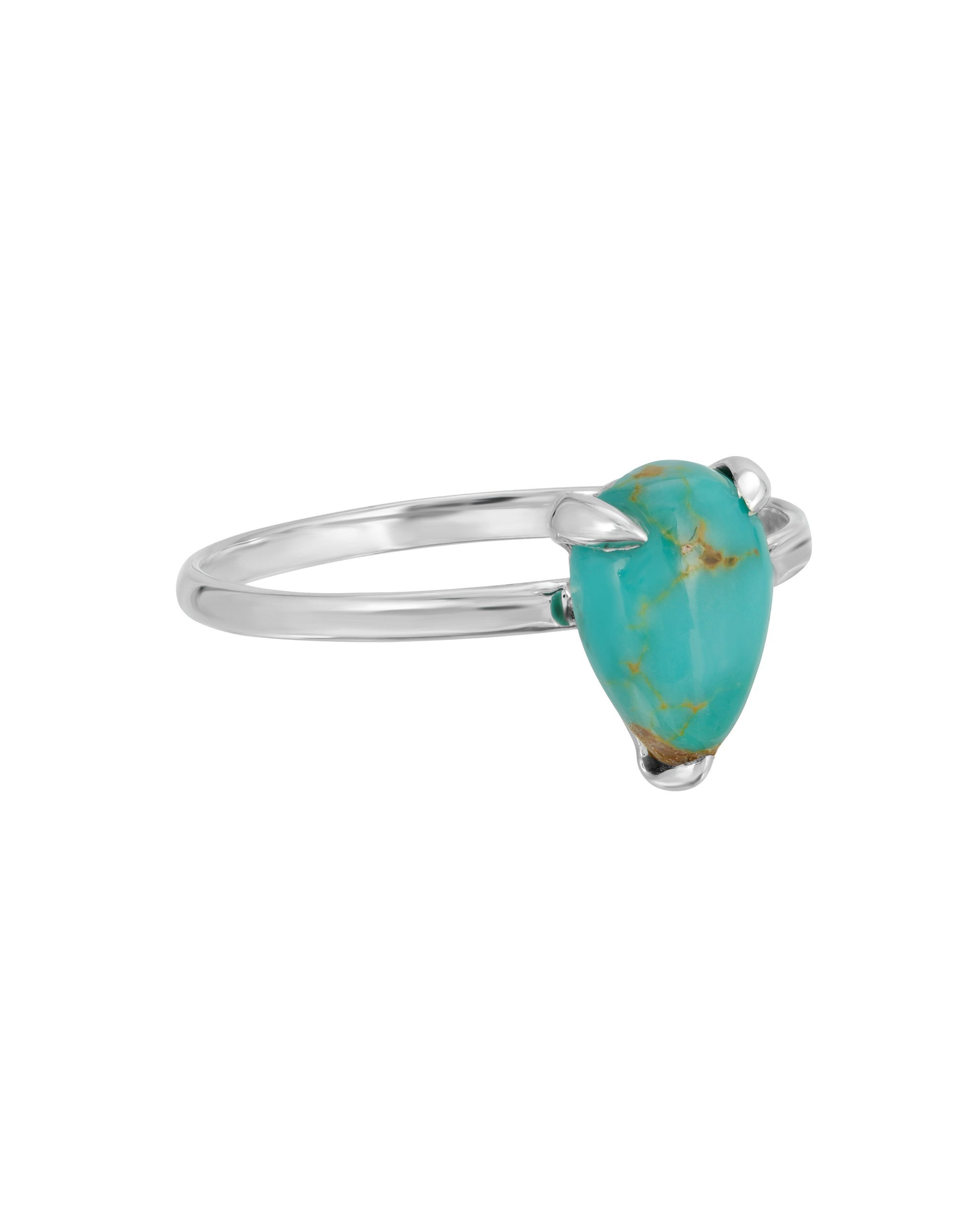 HALCYON RING - TURQUOISE + TOBACCO