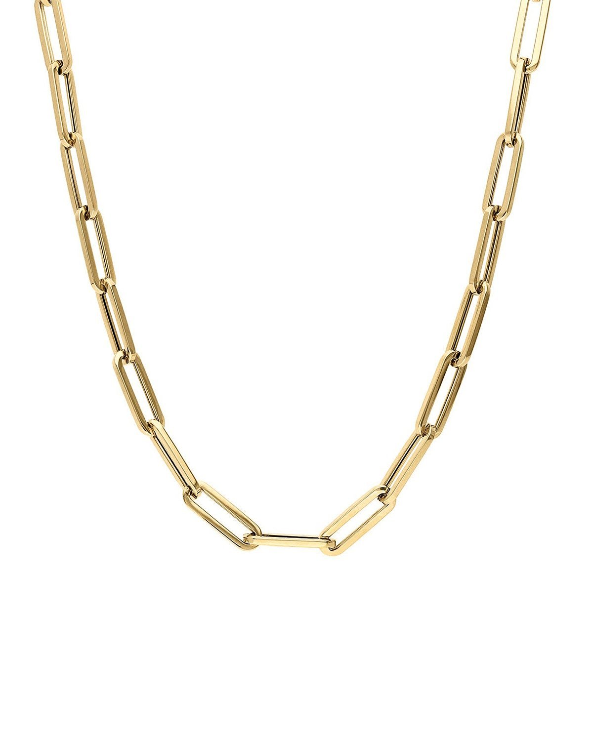 HEAVYWEIGHT PAPERCLIP CHAIN - 14k Gold Vermeil