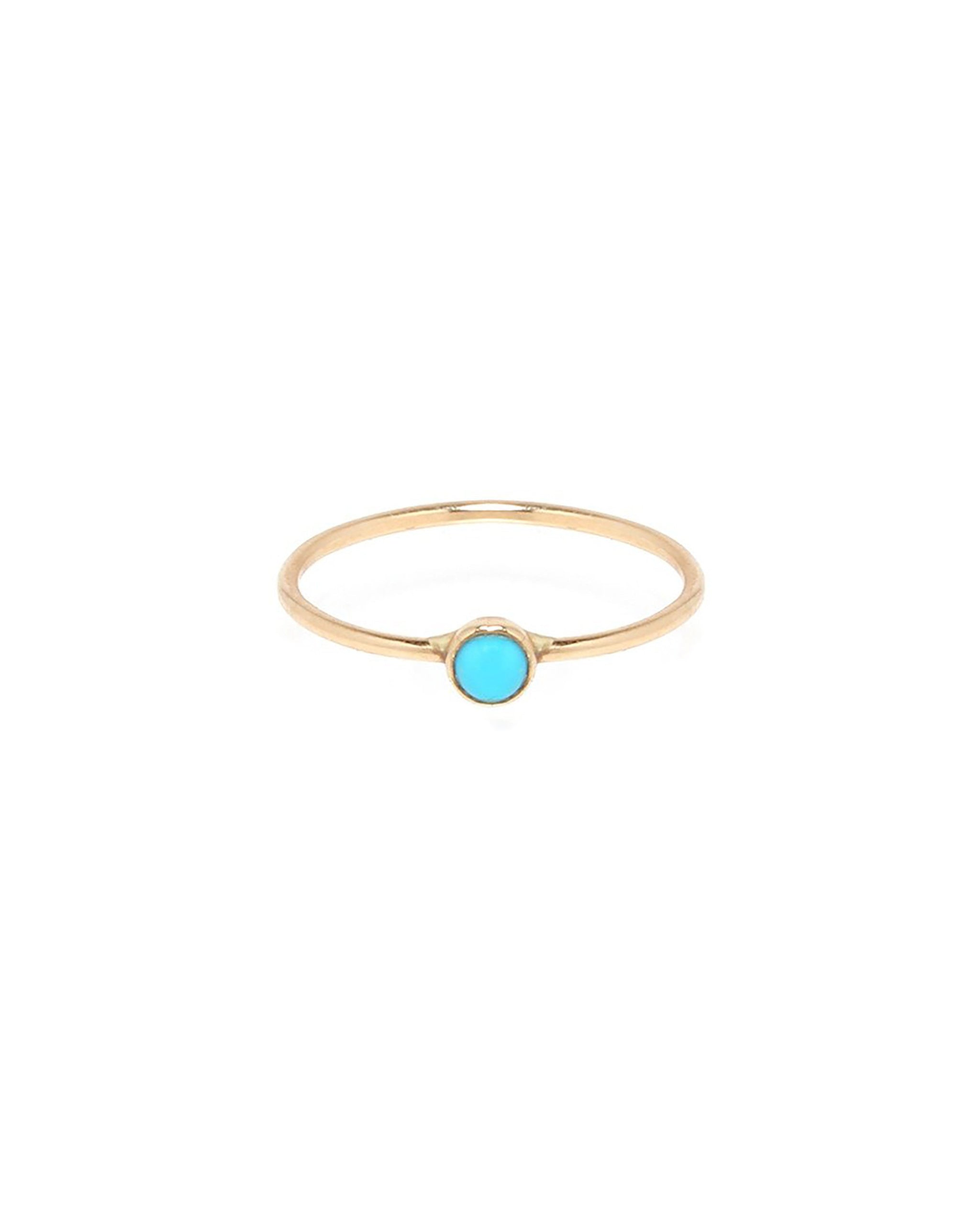 LUNA RING - TURQUOISE + TOBACCO
