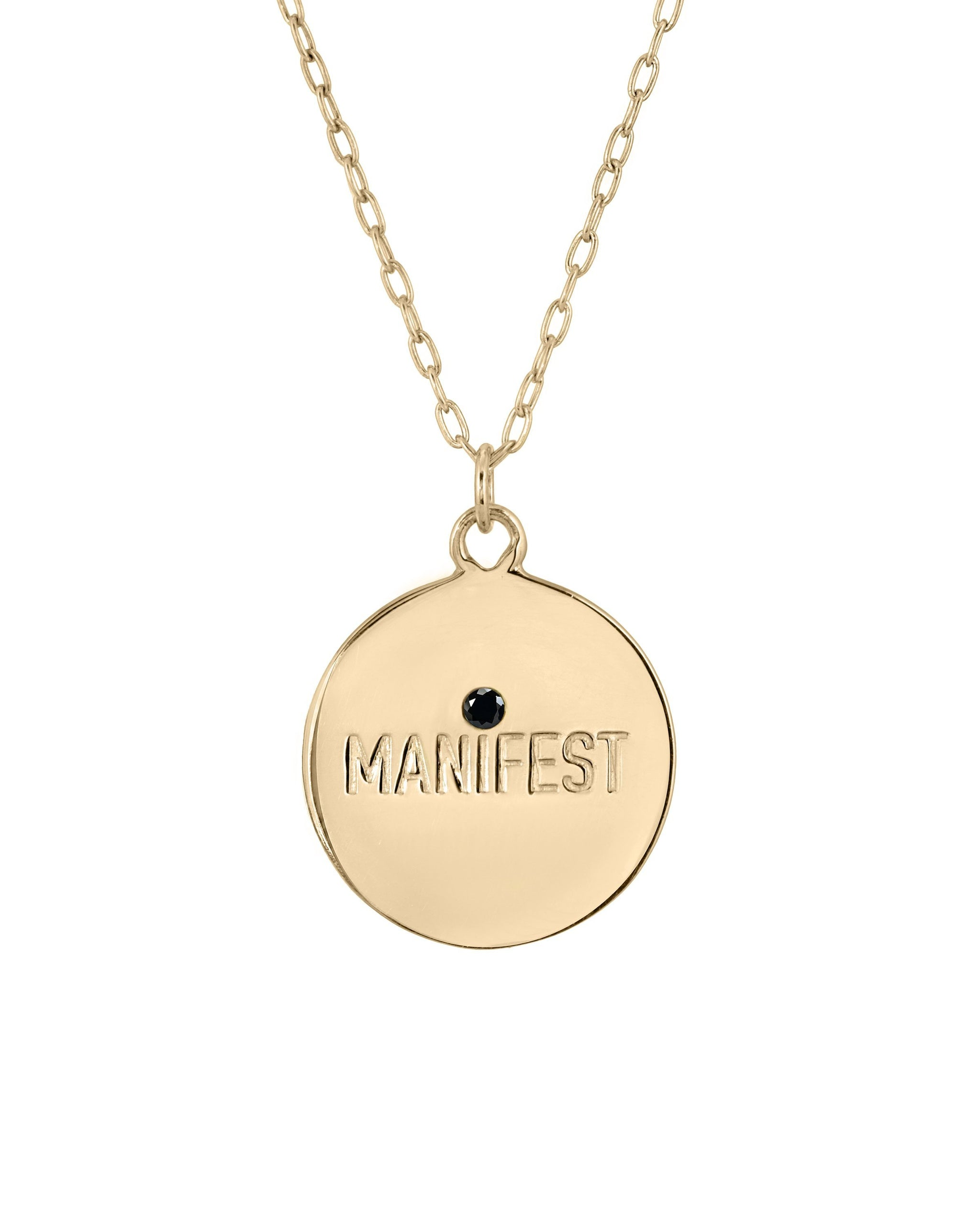 MANIFEST NECKLACE - TURQUOISE + TOBACCO