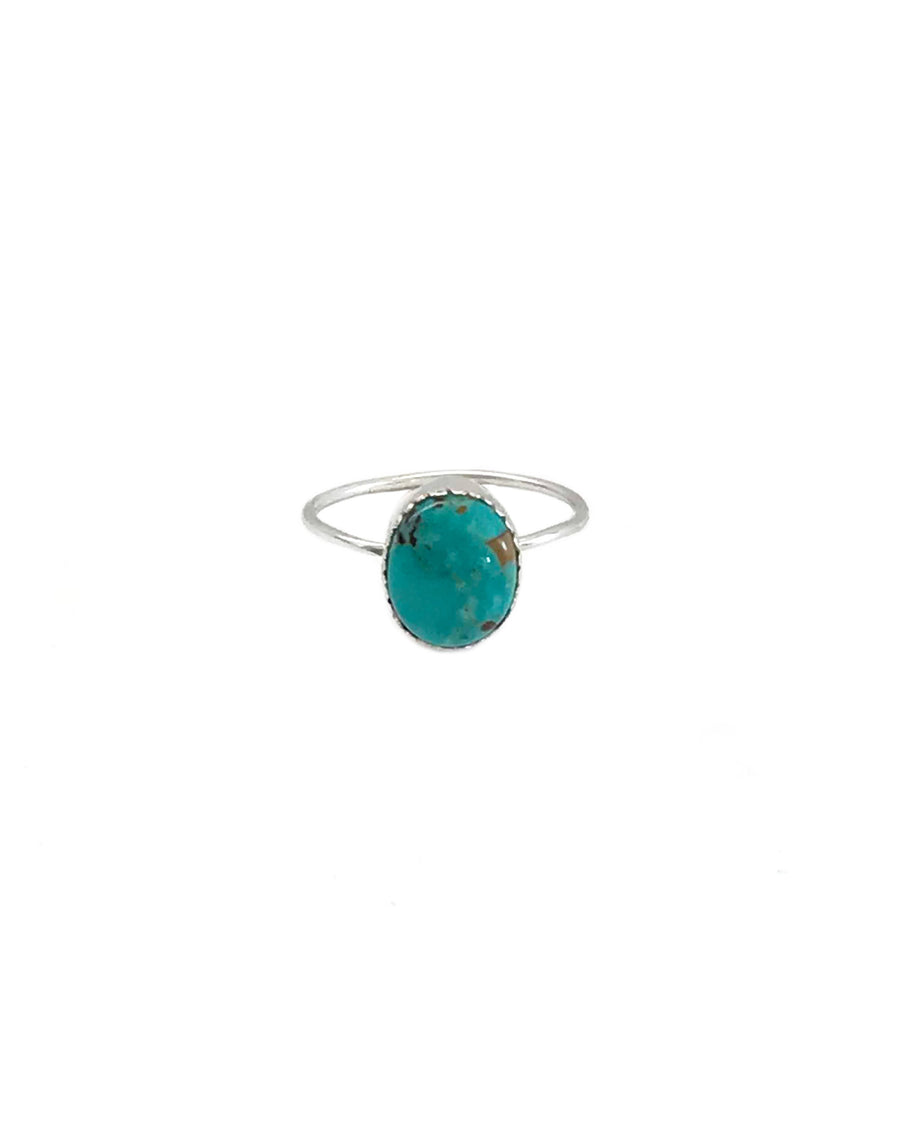 MOON DUST RING - TURQUOISE + TOBACCO