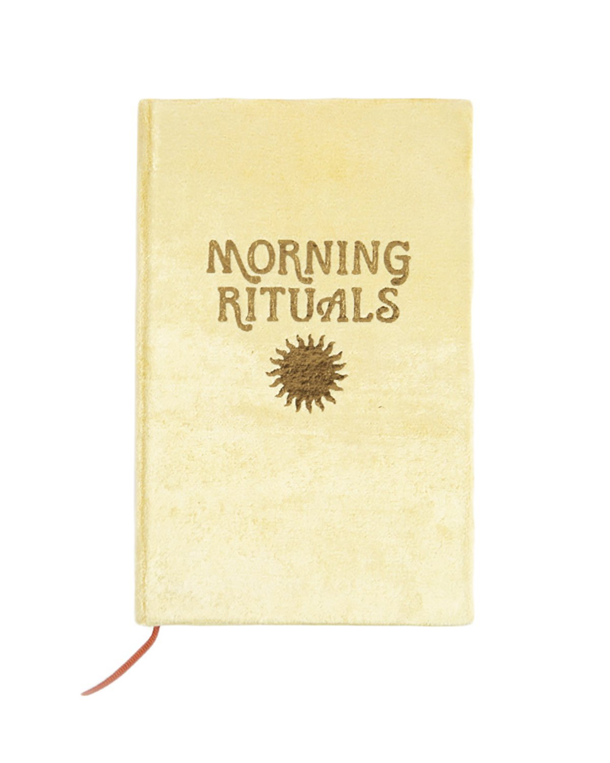 MORNING RITUALS JOURNAL - TURQUOISE + TOBACCO