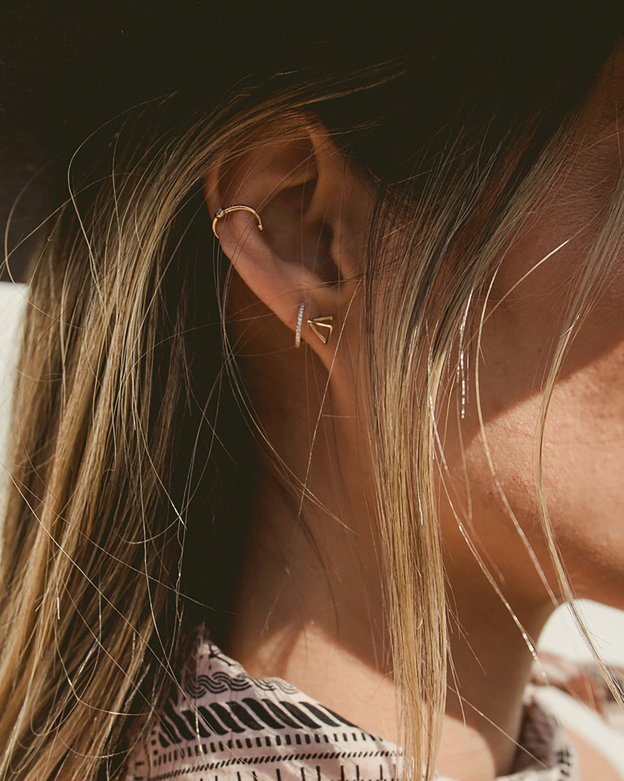 PRISM STUDS - TURQUOISE + TOBACCO