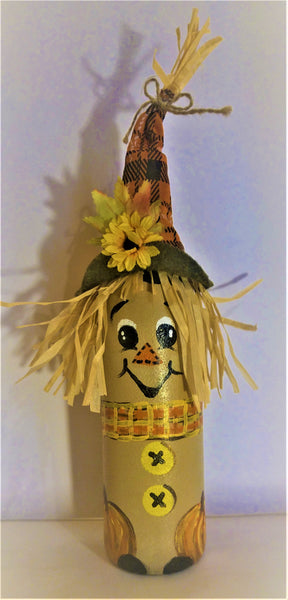Special: $17 Wine bottle Scarecrow