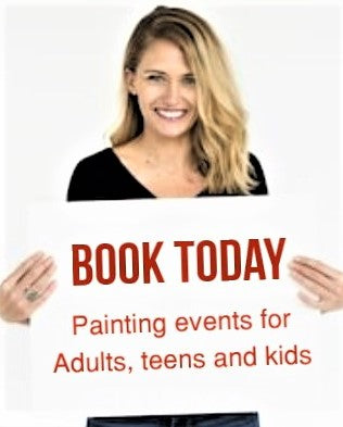 PRIVATE EVENTS for 15 to 250 painters